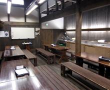 酒々小屋(見学の控室・勉強室)